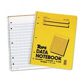 Data Notebook with Nine Columns, 50 Sheets/Pad
