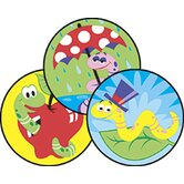 Stinky Stickers Wiggly Worms