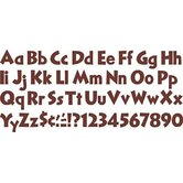 Ready Letters Chocolate 4 In