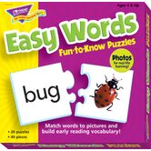 Fun-to-know Puzzles Easy Words