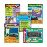 Computer Skills Learning Charts Combo Pack