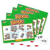 Money Bingo Games, 36 Playing Cards, 200 Chips, English
