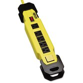 Safety Power Strip 6 Outlets, 9 Ft Cord with GFCI Plug