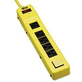Safety Power Strip, 6 Outlets, 6 ft Cord