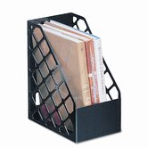 Plastic Large Magazine File, 6-1/4 x 9-1/2 x 11-3/4, Black