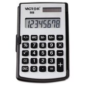 908 Handheld Calculator, Eight-Digit LCD