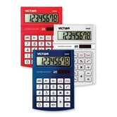 Desktop Calculator, 8 Digit, Large LCD, Solar w/ Battery Backup