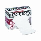 Handi-Bag Super Value Packs, 13 Gallon, .6mil, 23-1/2 x 29, White, 100/Box