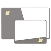 Combination Magnetic Dry Erase and Foam Board, 36 X 24