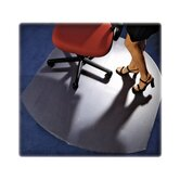 Contoured Low/Medium Pile Carpet Chair Mat