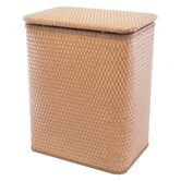 Chelsea Pattern Wicker Nursery Hamper with Removable Bag