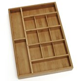 Adjustable Bamboo Drawer Organizer