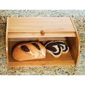 Bamboo Roll Top Bread Box