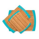 Bamboo Non Slip Cutting Board (Set of 3)
