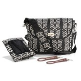 Mackenzie Messenger Diaper Bag