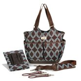 Sahara Tag-a-Long Tote Diaper Bag