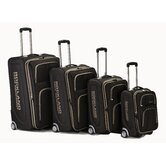 4 Piece Upright Luggage Set