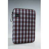 Plaid Laptop Sleeve in Red / Green