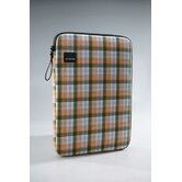 Plaid Laptop Sleeve in Yellow / Green