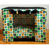 Quattro Leaf Dog Crate Cover
