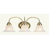 Edgemont  Vanity Light in Antique Brass