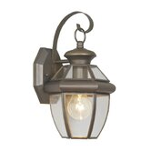 Monterey  Outdoor Wall Lantern in Bronze