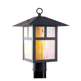 Montclair  Mission Outdoor Post Lantern in Bronze