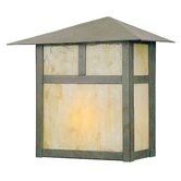 "Montclair Mission 11""  Outdoor Wall Lantern in Verde Patina"