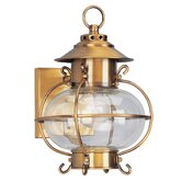 Harbor 11.25&quot;  Outdoor Wall Lantern in Flemish Brass