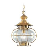 Harbor  Outdoor Hanging Lantern in Flemish Brass