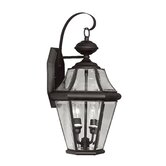 Georgetown Outdoor Wall Lantern in Black