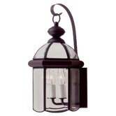 "Chatham 17"" x 8.75""  Outdoor Wall Lantern in Bronze"