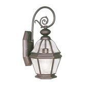 Bradford  Outdoor Wall Lantern in Bronze