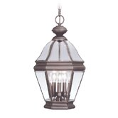 Bradford  Outdoor Hanging Lantern in Bronze