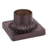 Outdoor Basics Pier Mount in Imperial Bronze