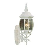 Frontenac  Outdoor Wall Lantern in White