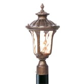 Oxford Outdoor Post Lantern in Moroccan Gold