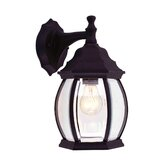 "Frontenac 12""  Outdoor Wall Lantern in Black"