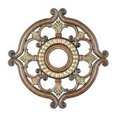 Ceiling Medallion in Venetian Patina