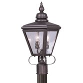 Cambridge Outdoor Post Lantern in Bronze