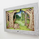 Woodland Diorama Scene