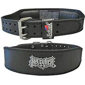 Leather Jay Cutler Signature Belt in Black