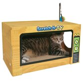 Scratch-N-Television Cat Scratcher