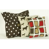 Houndstooth Pillow (Set of 3)