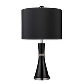 Trendsitions Sanyan Table Lamp in Gloss Black