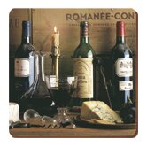 Vintage Wine Coasters (Set of 6)