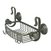 Regalia Shower Caddy in Weathered Brass