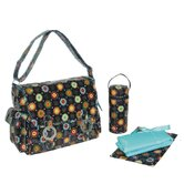 Double Buckle Diaper Bag Set