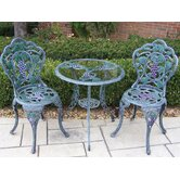 Vineyard 3 Piece Bistro Set