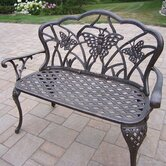 Butterfly Aluminum Garden Bench